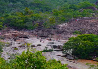 Swimming holes 15 minutes from town centre