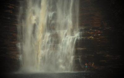 The majestic Buracão Waterfall