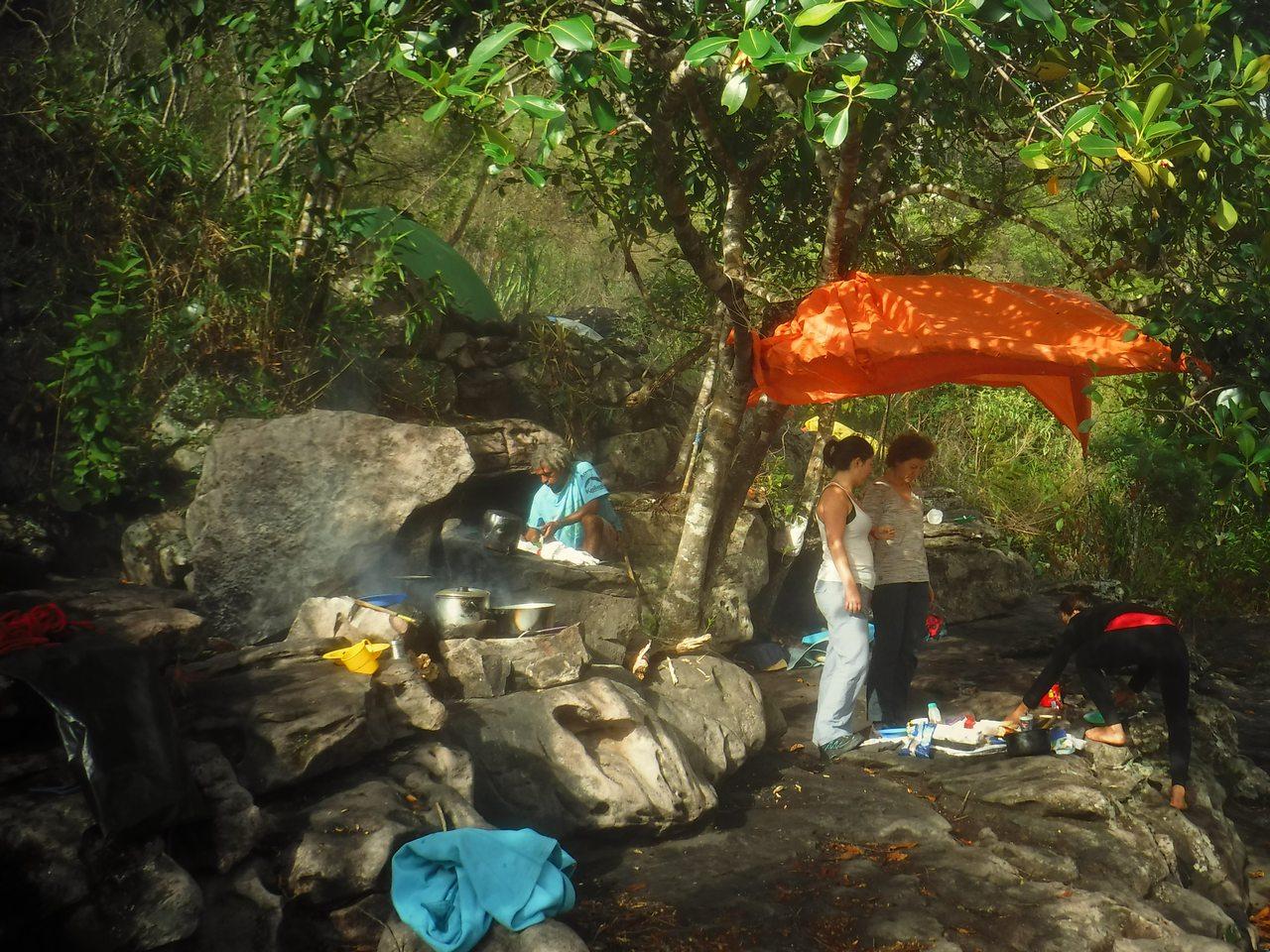 Acampamento Poção, trekking Mixila, Chapada Diamantina, Brazil