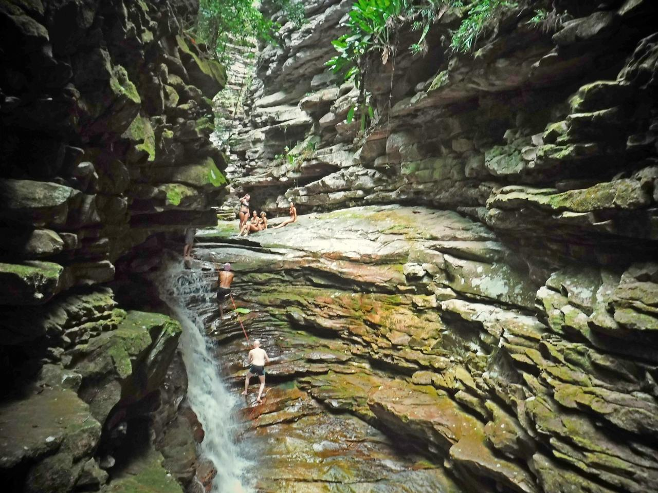Cachoeira da Mixila, Canyon, Chapada Diamntina, Bahia, Brazil (4)