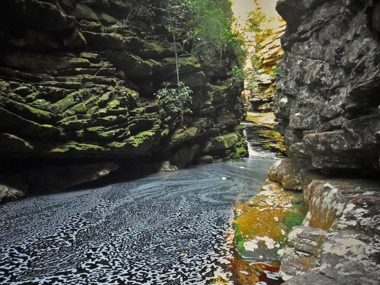 Cachoeira da Mixila, Canyon, Chapada Diamntina, Bahia, Brazil (6)