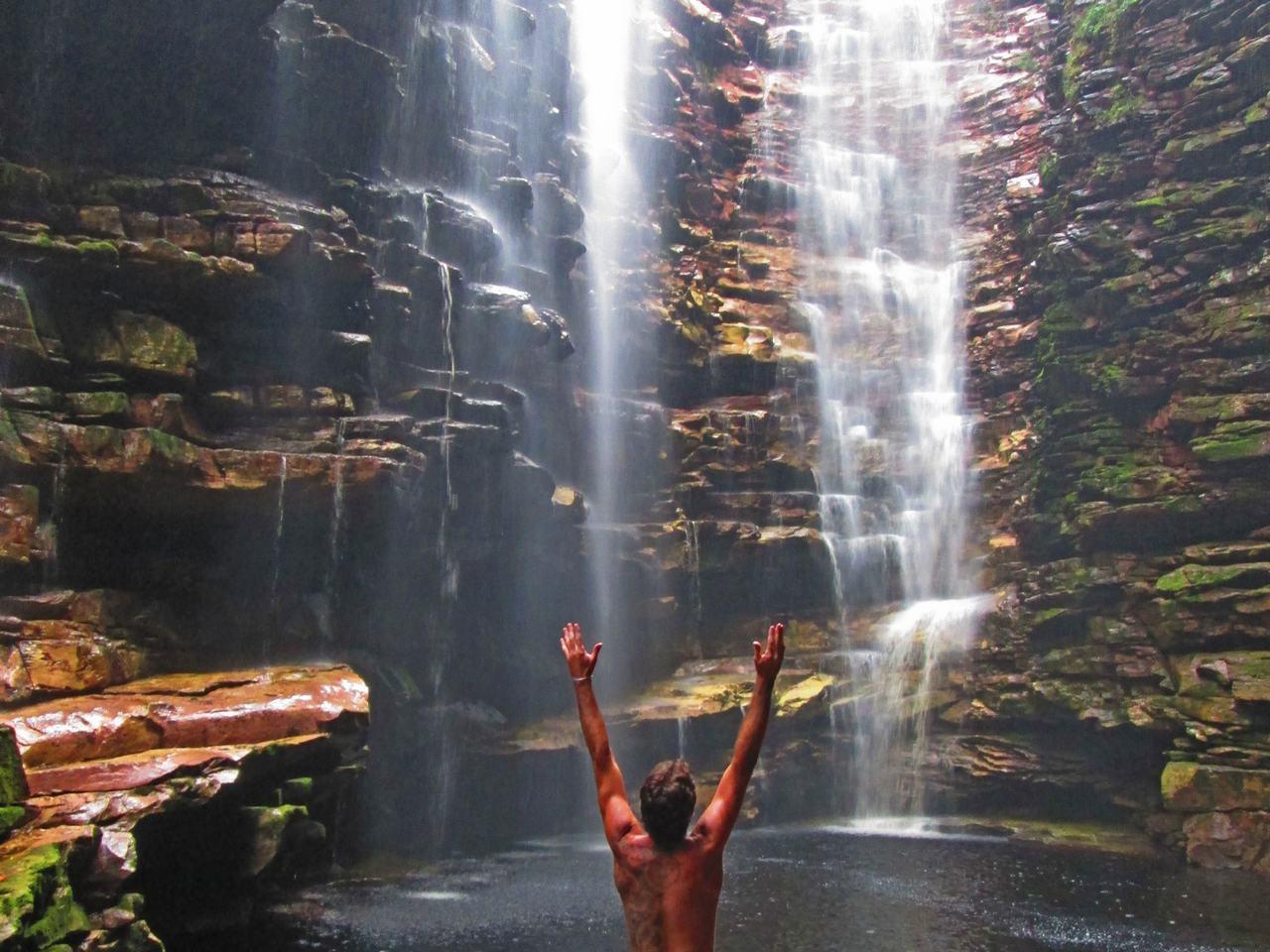 Cachoeira da Mixila, Canyon, Chapada Diamntina, Bahia, Brazil (8)