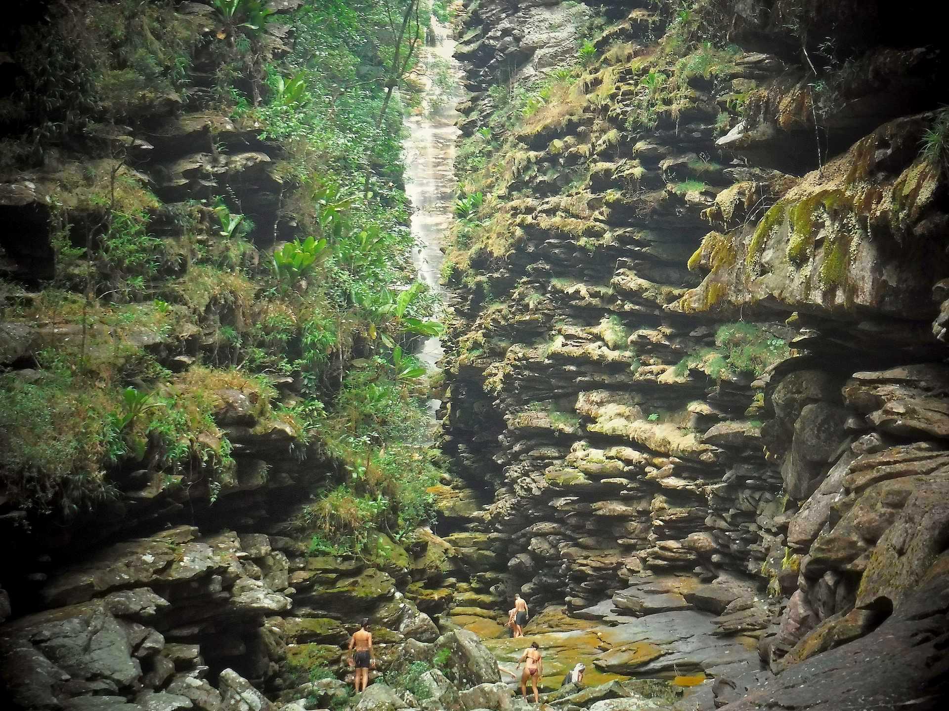 Cachoeira da Mixila, Chapada Diamantina, Brazil