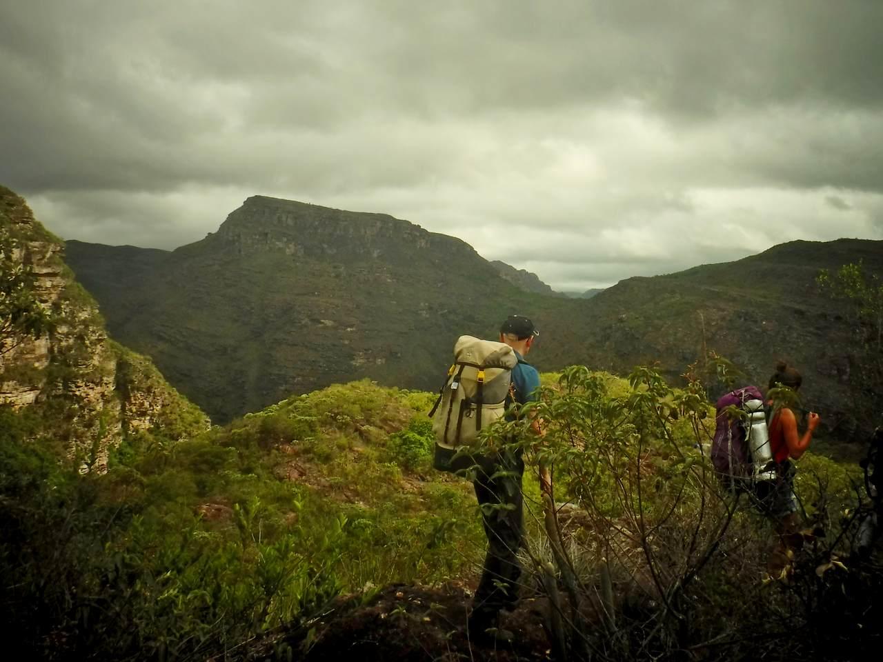 Views of the Capivara Canyon, Chapada Diamantina, Brazil (2)