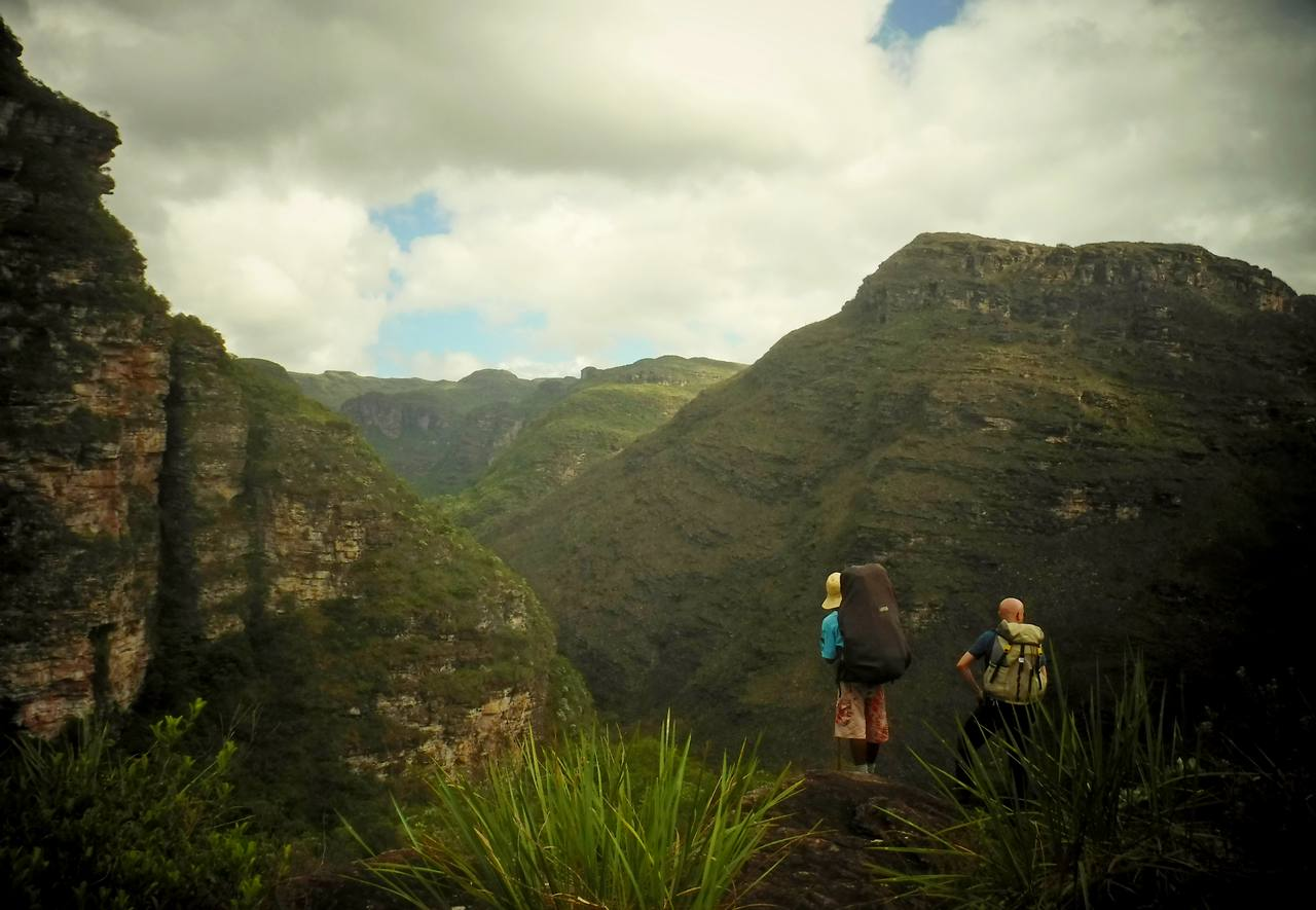 Views of the Capivara Canyon, Chapada Diamantina, Brazil (3)